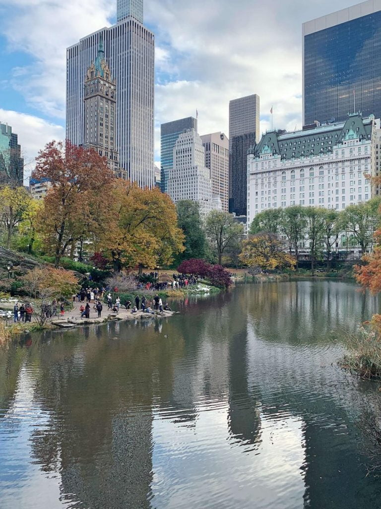 Curiosities Our Bucket Lists Cheap NYC Guide Central Park The Pond