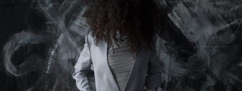 Shop Ladies Julia Seregina Grey Blazer