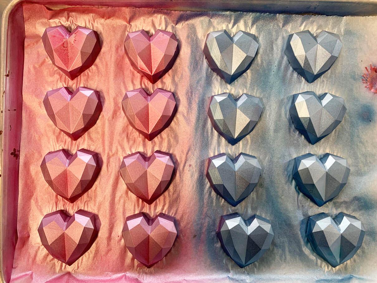 Shop Specialties Sweet Corner Bakeshop Mini Chocolate Nutella Hearts