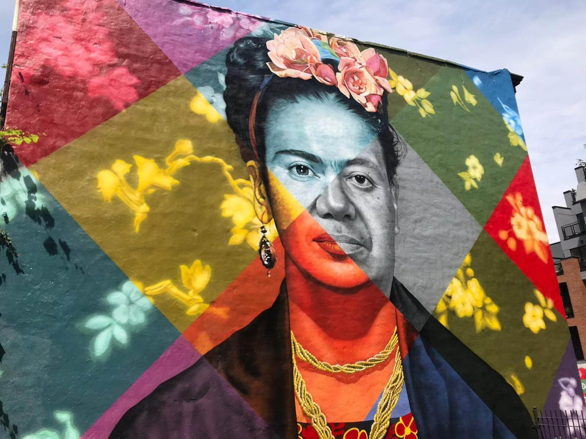 Kobra Mural Grafitti New York Frida Kahlo