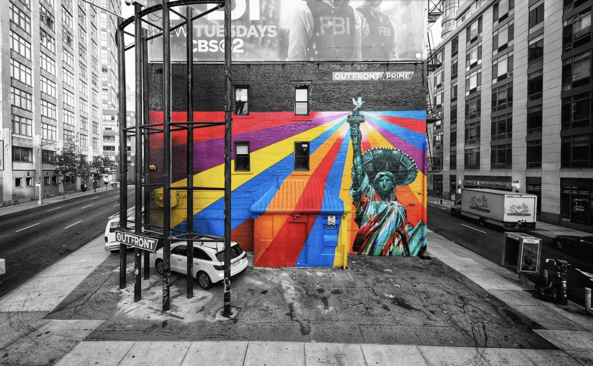Kobra Mural Grafitti New York Liberty