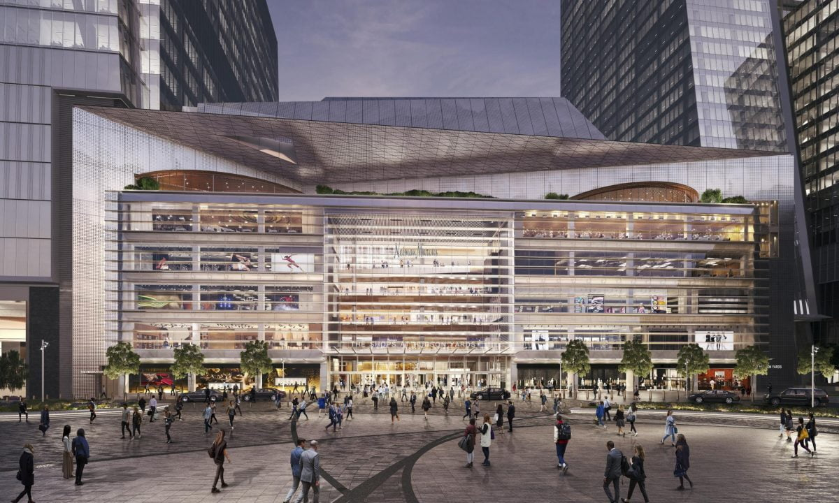 Shop Ladies and Gents Hudson Yards Plaza View Courtesy Related Oxford