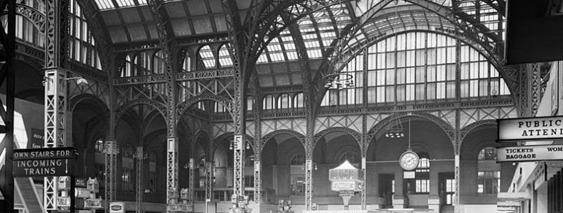 BTSNYC Experiences On Going Tour Of The Remnants Of Penn Station Vintage McKim Mead White Train Station Credit Wikimedia Commons Library of Congress