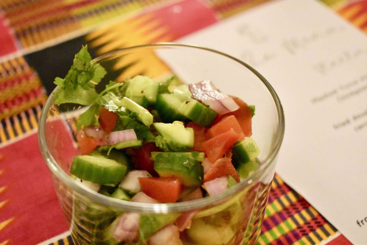 Events On Going Your Friends Kitchen NYC Dining Experience Salad Sachumbari