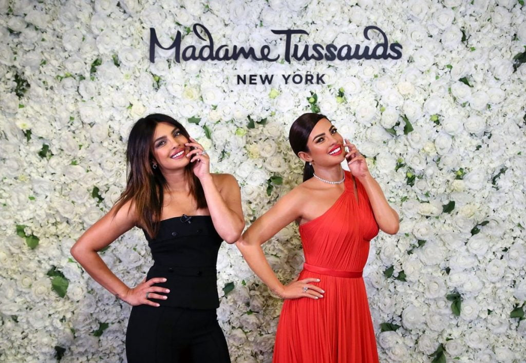 BTSNYC Experiences On Going Madame Tussauds NY Priyanka Chopra