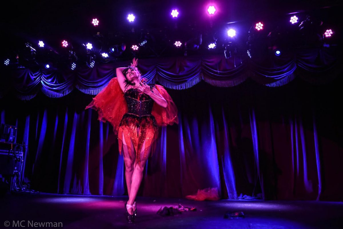 Events Up Coming 17th Annual New York Burlesque Festival Lady in Red