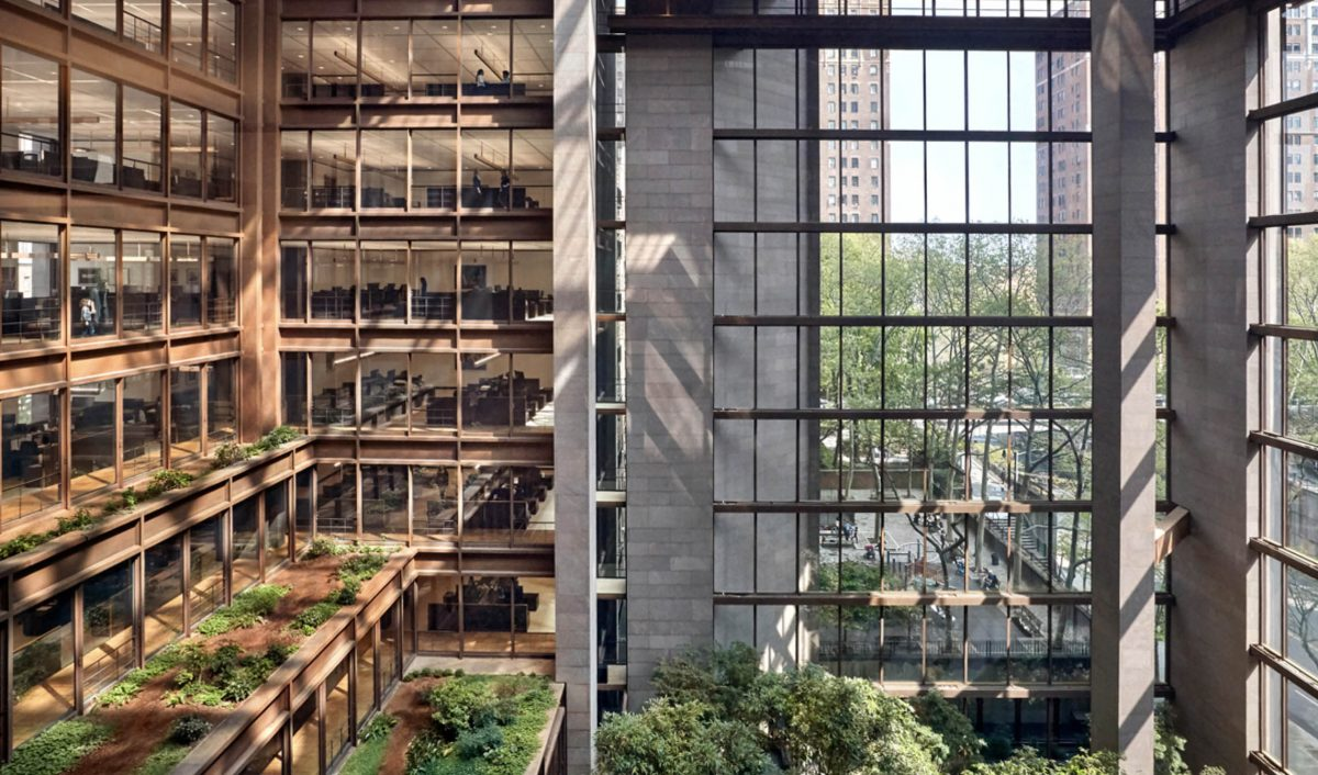 Events Up Coming Open House New York Weekend Ford Foundation Center by Garrett Rowland Gensler