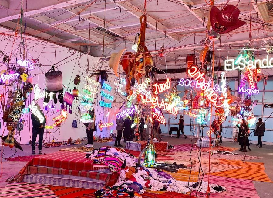 Entertainment Culture Jason Rhoades David Zwirner Installation