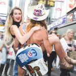 Curiosities Insider Interviews Holly Burt Naked Cowboy NYC