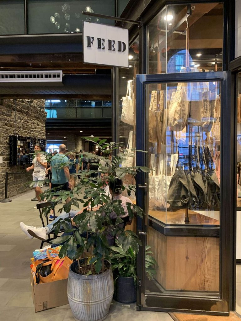 BTSNYC Social Responsibility Feed Project Empire Stores in Dumbo