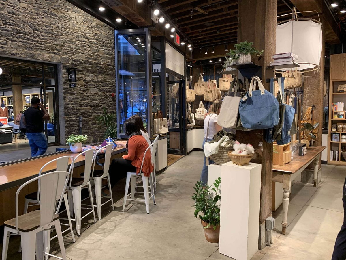 BTSNYC Social Responsibility Feed Project Empire Stores in Dumbo Coffee Shop