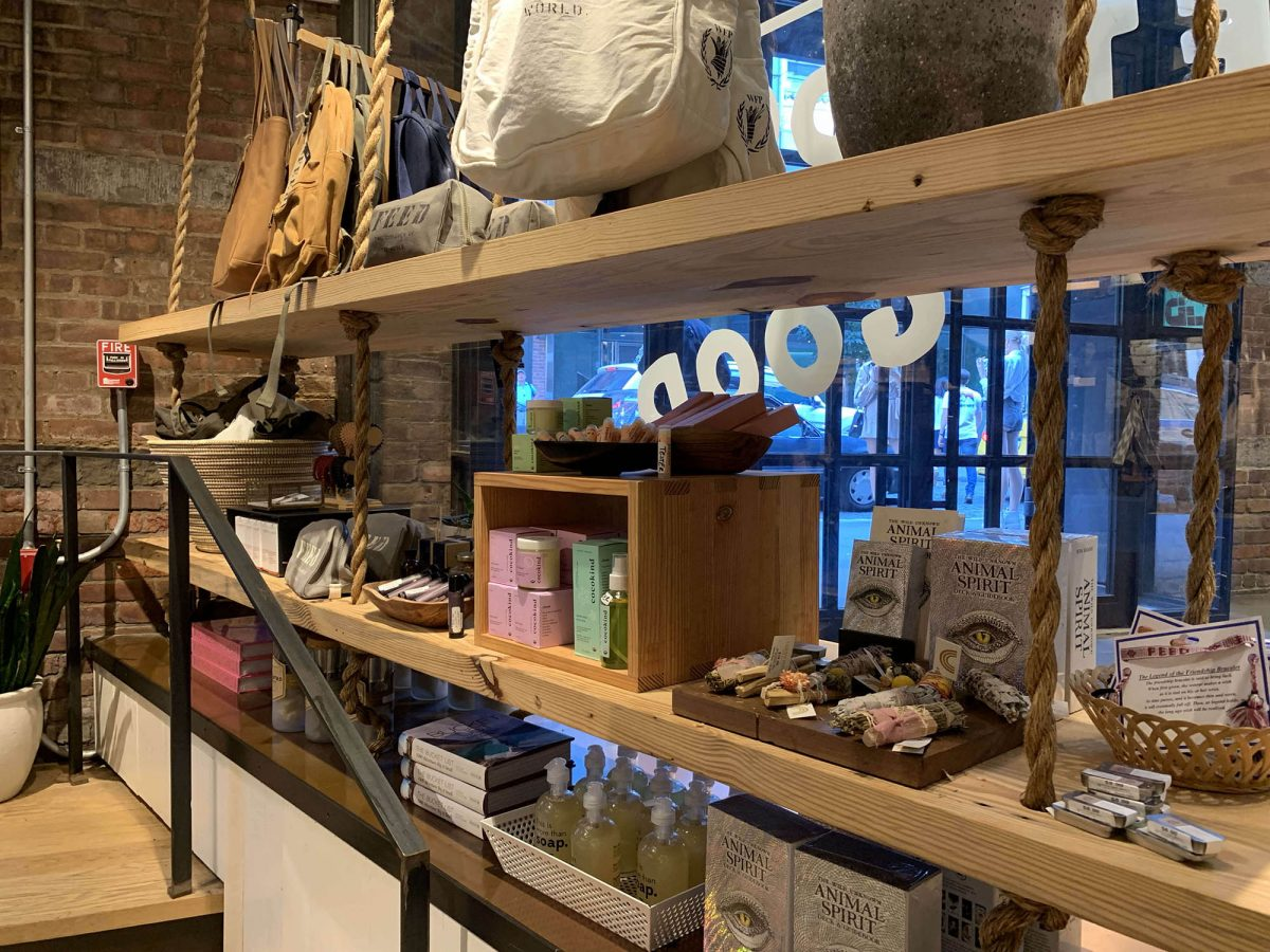 BTSNYC Social Responsibility Feed Project Empire Stores in Dumbo Products