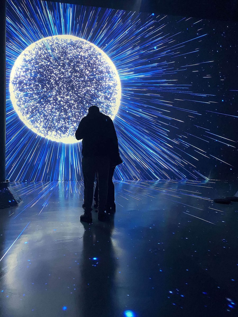 Culture Submerge Immersive Installation Artechouse Pantone Ball