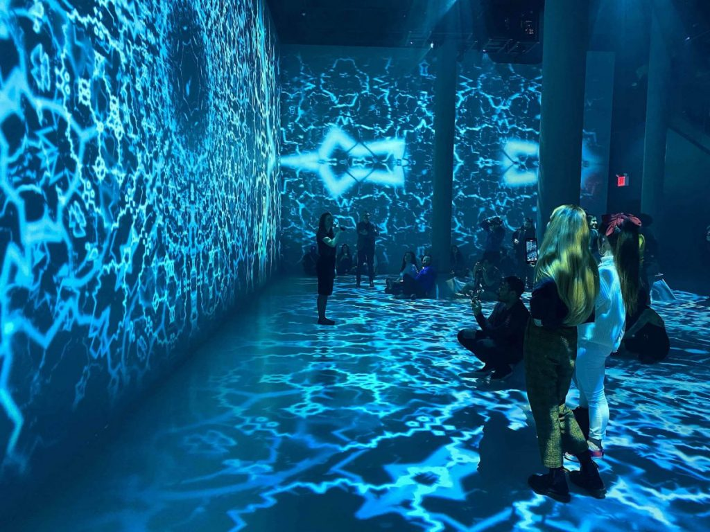Culture Submerge Immersive Installation Artechouse Pantone Presentation