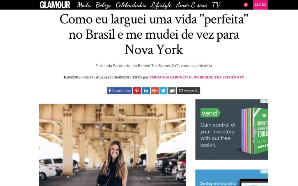 About BTSNYC What The Press Says Glamour Brasil