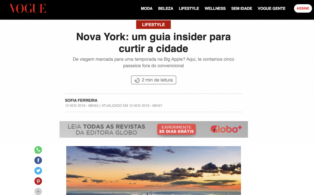 About BTSNYC What The Press Says Vogue Brasil