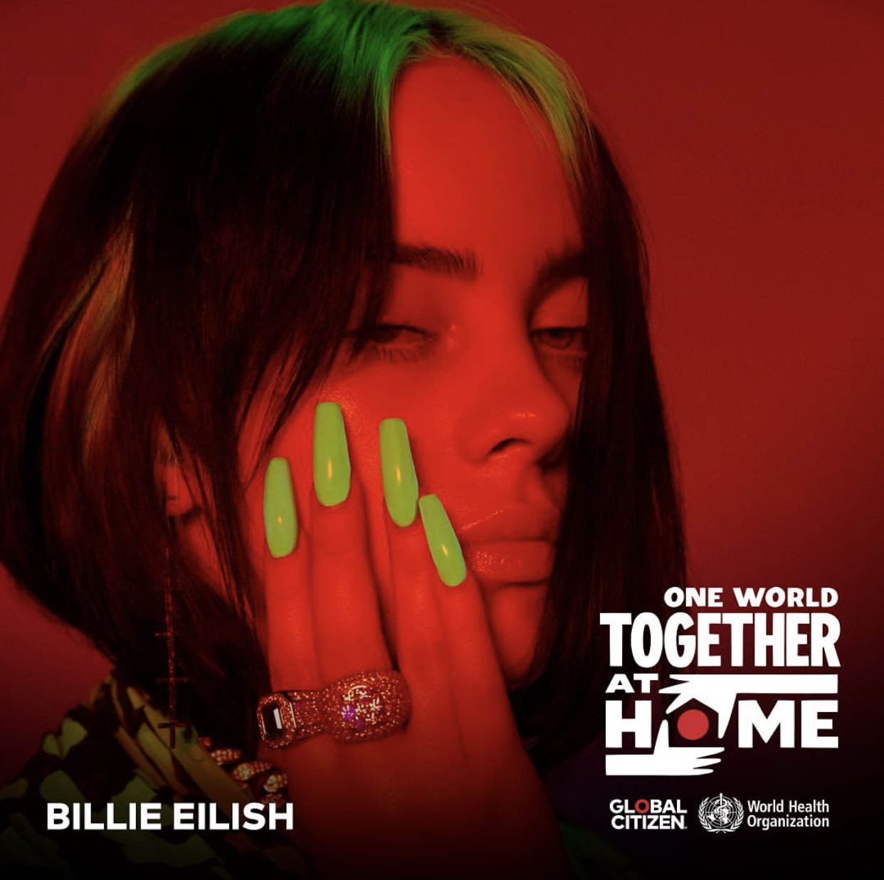 Music One World Together At Home Global Citizen Billie Eilish