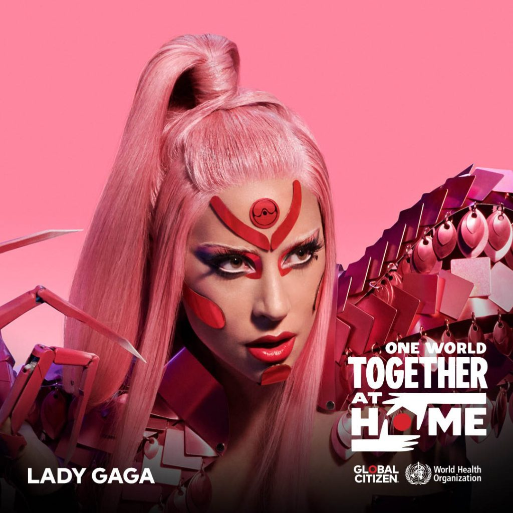 Music One World Together At Home Global Citizen Lady Gaga