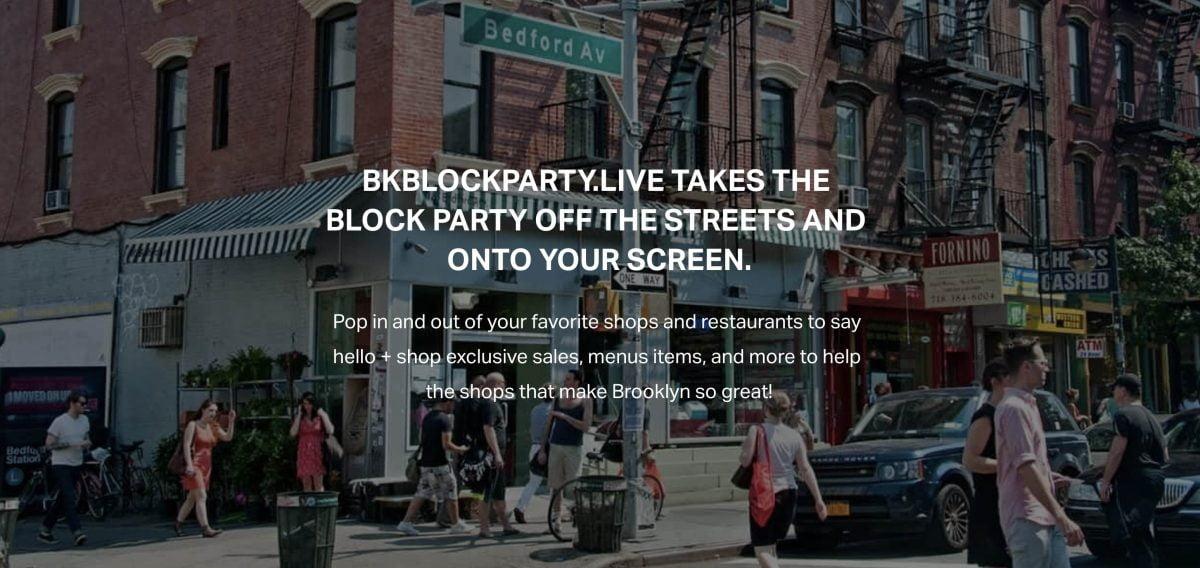Brooklyn BK Block Party Support Local Bedford Avenue Williamsburg
