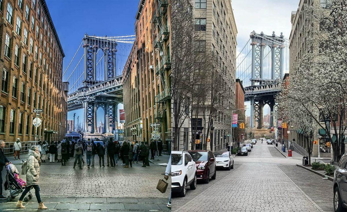 Curiosities City Secrets New York City Before and After the Coronavirus Dumbo Dalia Maidi Leo Macias