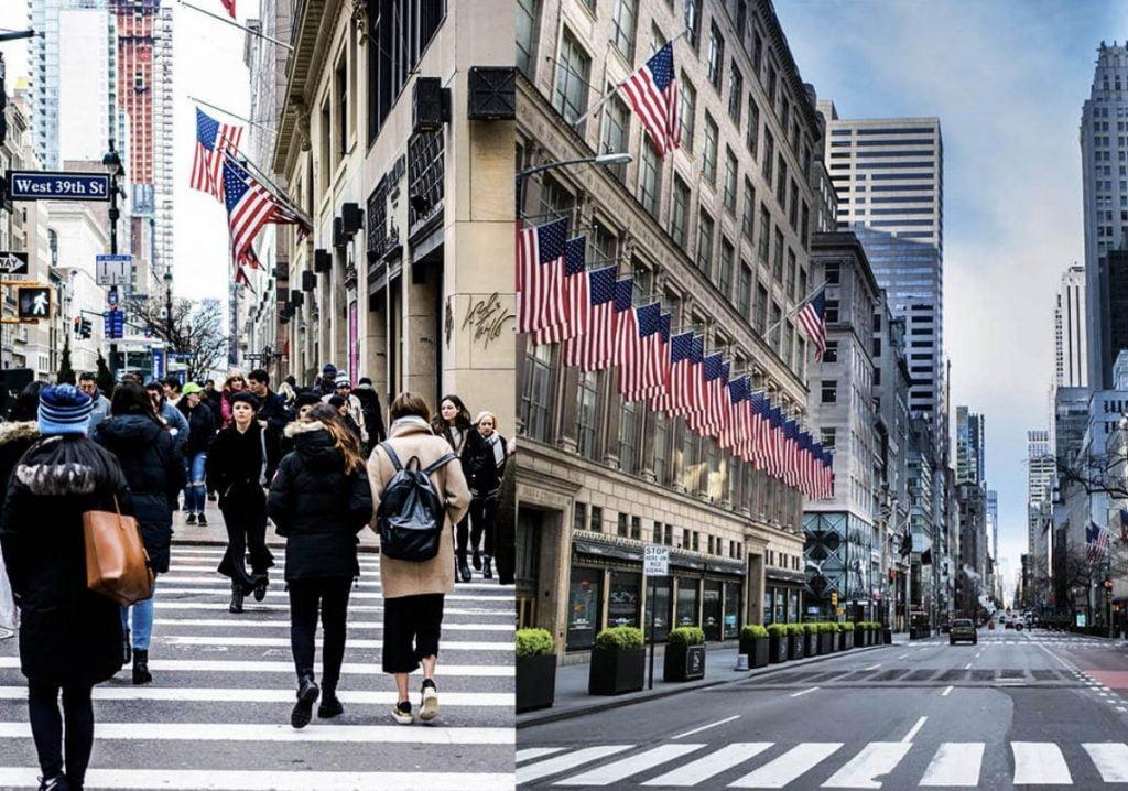 Curiosities City Secrets New York City Before and After the Coronavirus Fifth Avenue Vlad Hilitanu Dalia Maidi Thumbnail