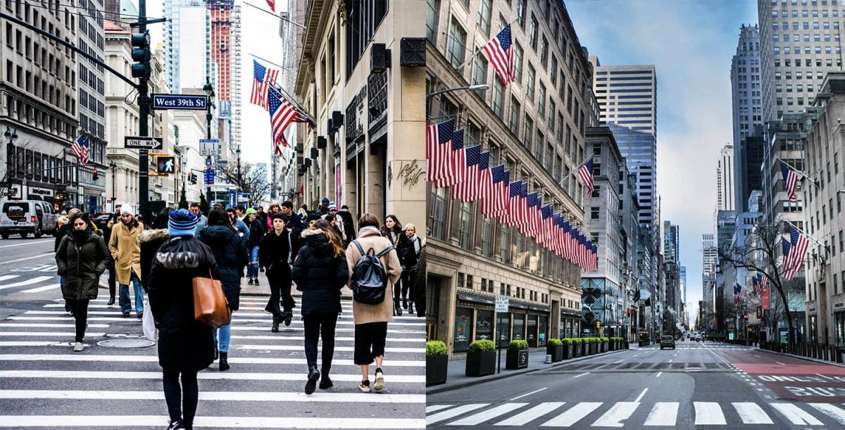 Curiosities City Secrets New York City Before and After the Coronavirus Fifth Avenue Vlad Hilitanu Dalia Maidi