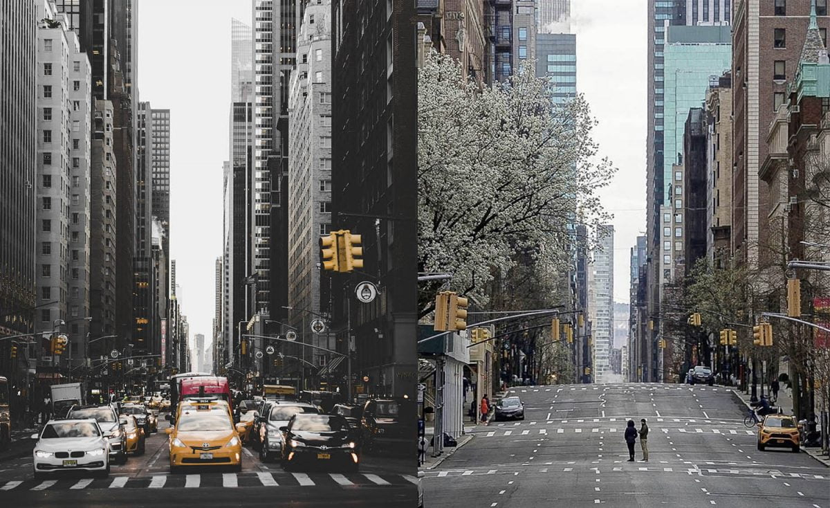 New York City Before And After The Coronavirus [Part 1/2]