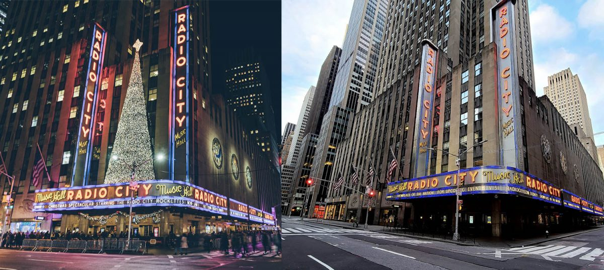 Curiosities City Secrets New York City Before and After the Coronavirus Radio City Goh Rhy Yan Alex Carvalho