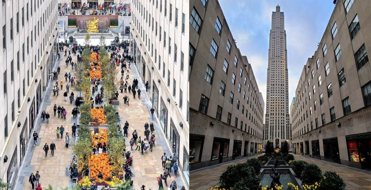 Curiosities City Secrets New York City Before and After the Coronavirus Rockefeller Center Noel Y Calingasan Alex Carvalho