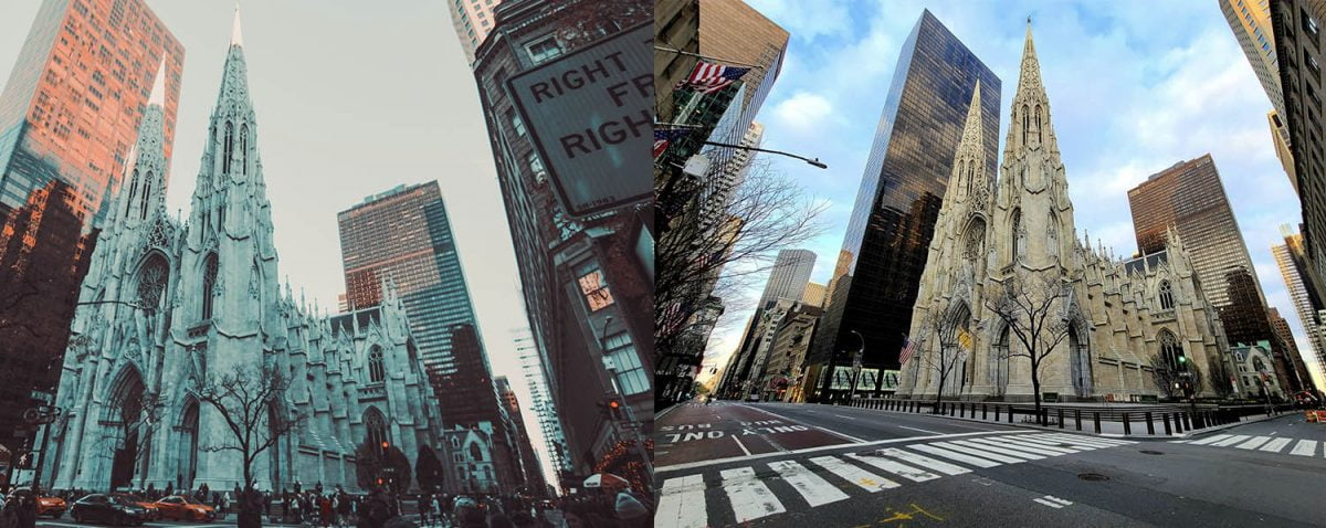 Curiosities City Secrets New York City Before and After the Coronavirus St Patricks Cathedral Miltiadis Fragkidis Alex Carvalho