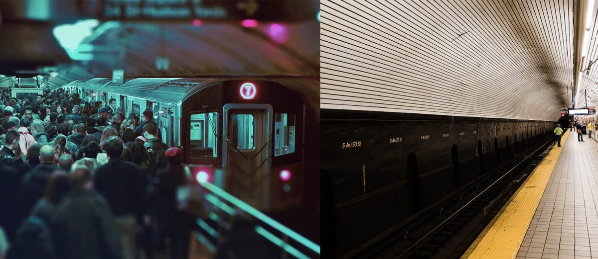 Curiosities City Secrets New York City Before and After the Coronavirus Subway Victor Rodriguez Jenna Day