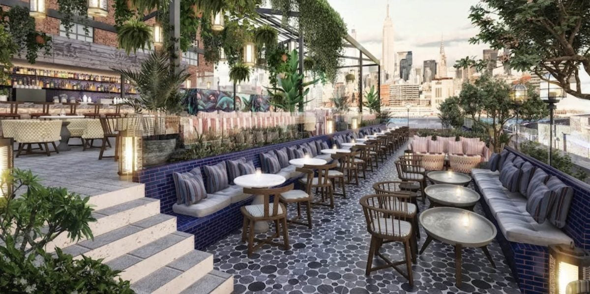 Nightlife Bars Best NYC Rooftop Bars 74 Wythe Weddings