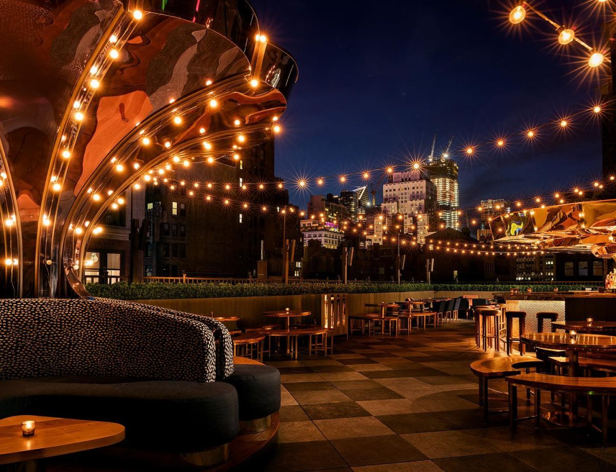 Nightlife Bars Best NYC Rooftop Bars Magic Hour Rooftop