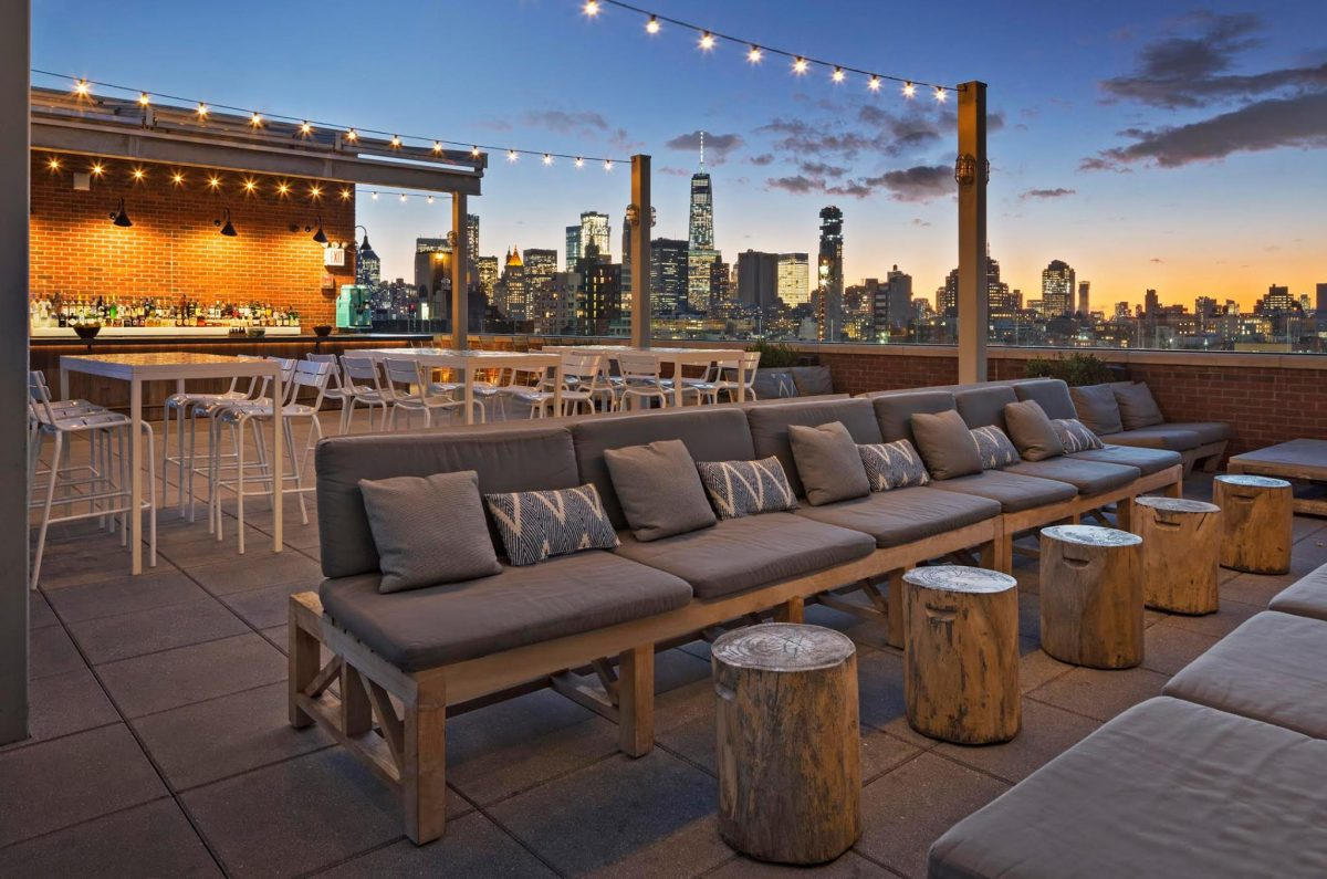 Nightlife Bars Best NYC Rooftop Bars Mr. Purple