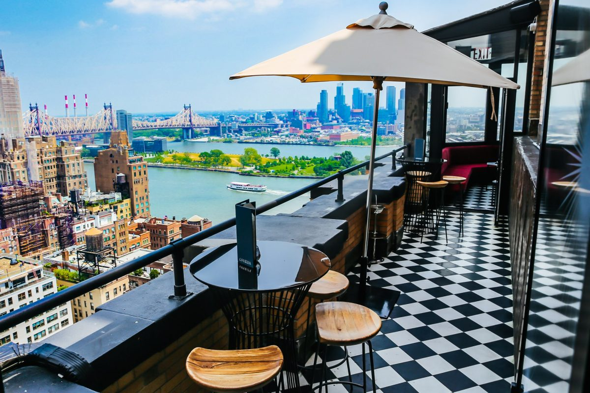 Nightlife Bars Best NYC Rooftop Bars Ophelia Beekman Tower