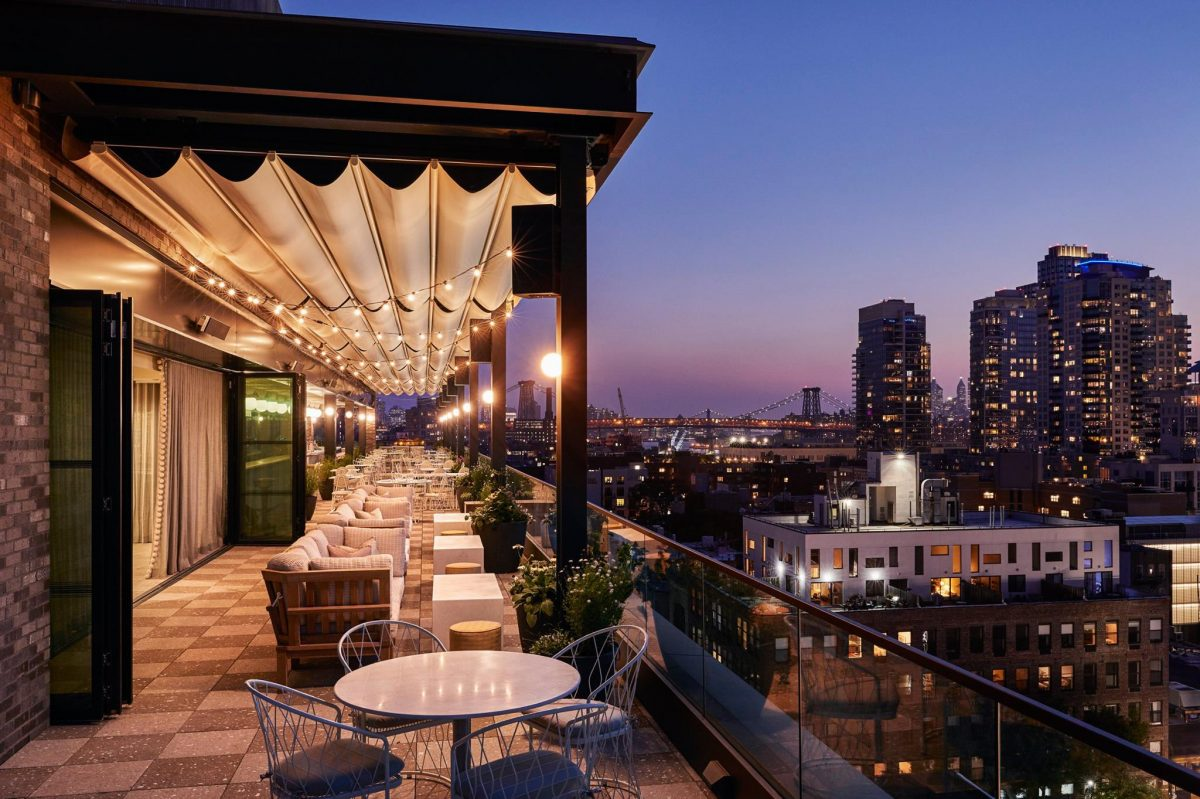 Nightlife Bars Best NYC Rooftop Bars Summerly at The Hoxton Hotel