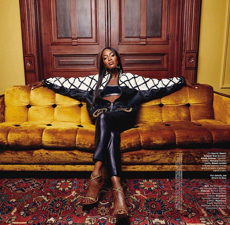 Curiosities Insider Interviews Tatiana Moribe Naomi Campbell Essence Cover